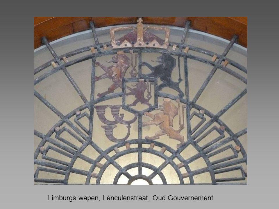 Limburgs wapen, Lenculenstraat, Oud Gouvernement