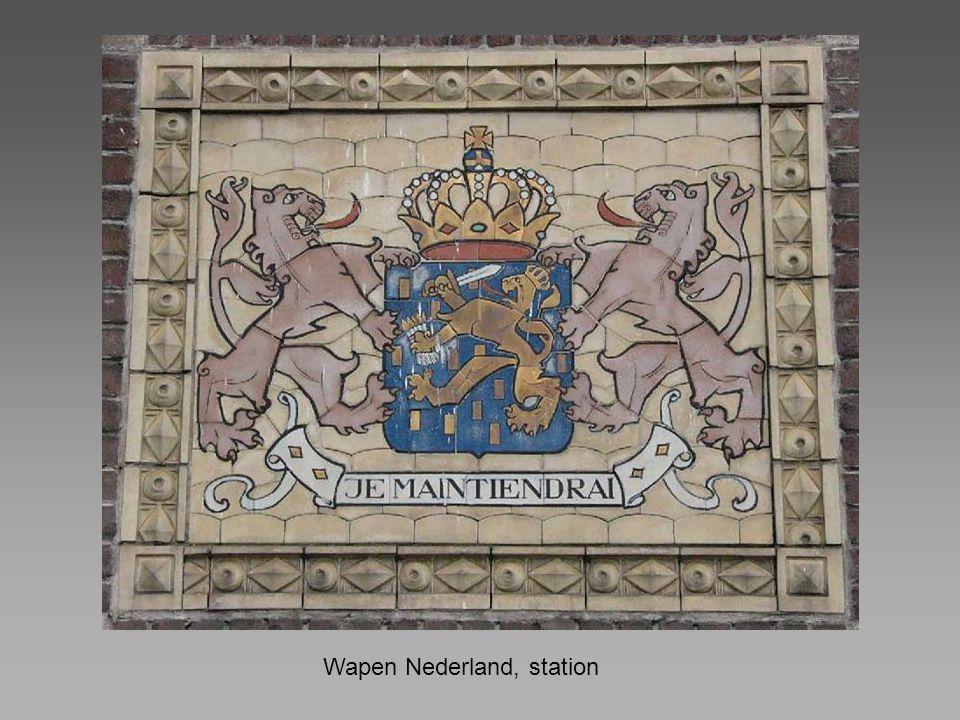 Wapen Nederland, station