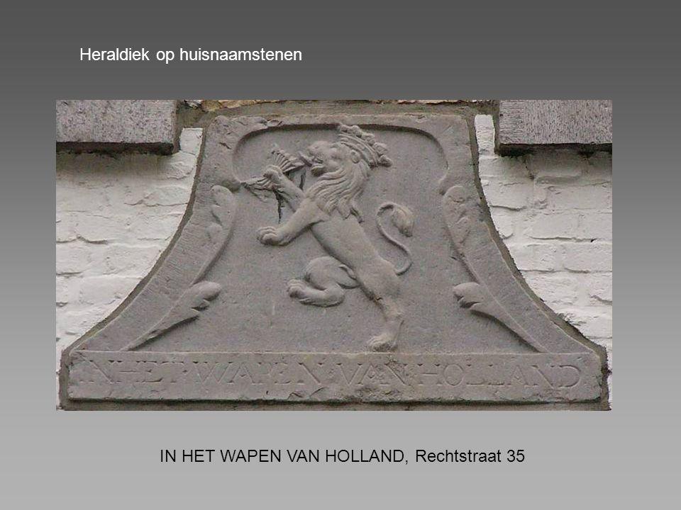 Heraldiek op huisnaamstenen