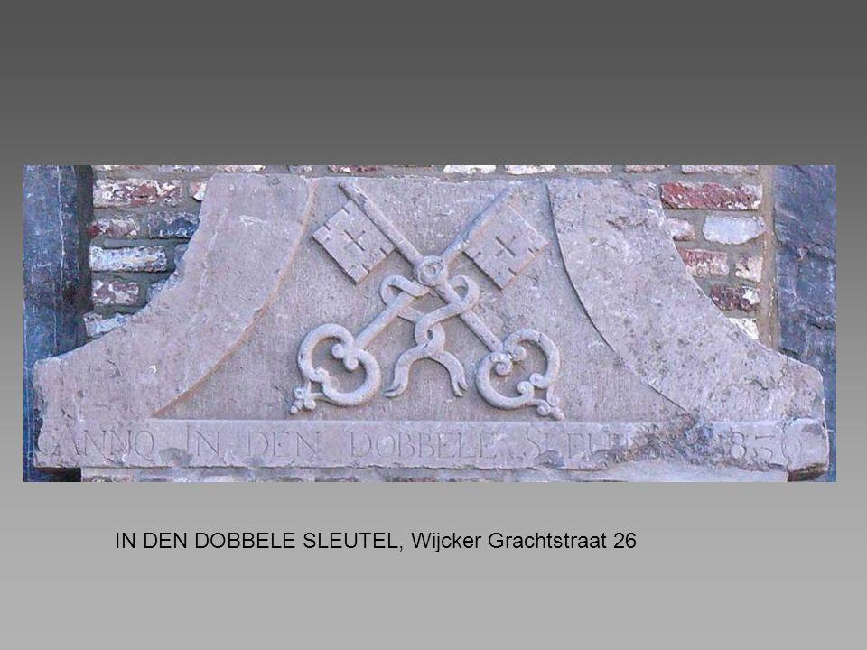 IN DEN DOBBELE SLEUTEL, Wijcker Grachtstraat 26
