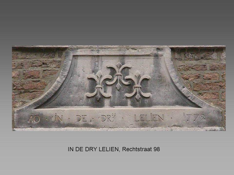 IN DE DRY LELIEN, Rechtstraat 98