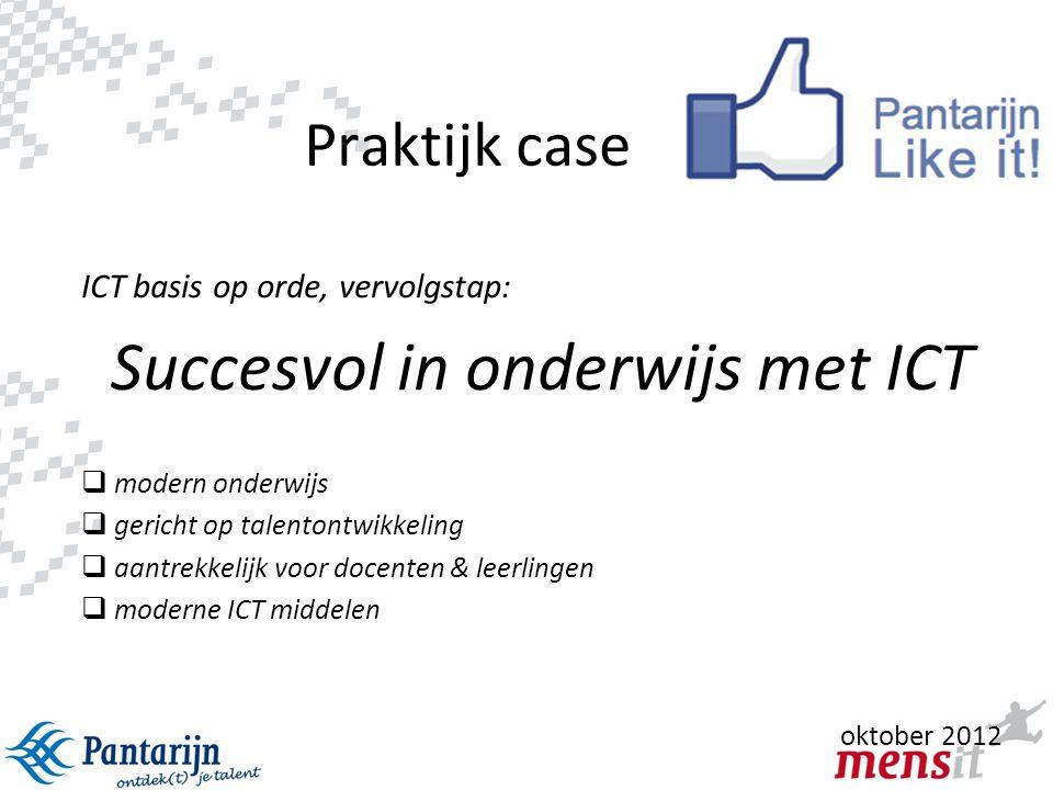 Succesvol in onderwijs met ICT