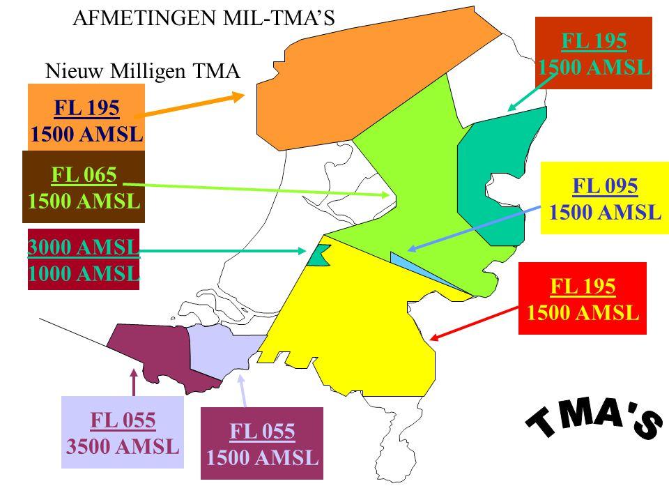 TMA S AFMETINGEN MIL-TMA'S FL 195 1500 AMSL Nieuw Milligen TMA FL 195