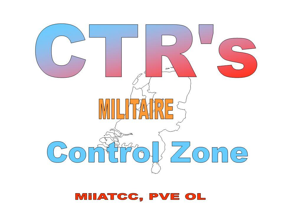 CTR s MILITAIRE Control Zone MilATCC, PVE OL