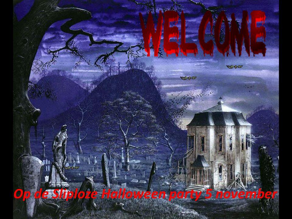Op de Sliploze Halloween party 5 november