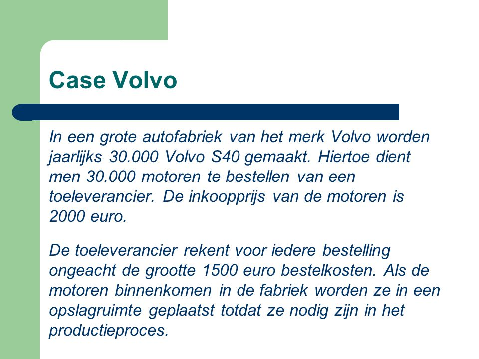 Case Volvo