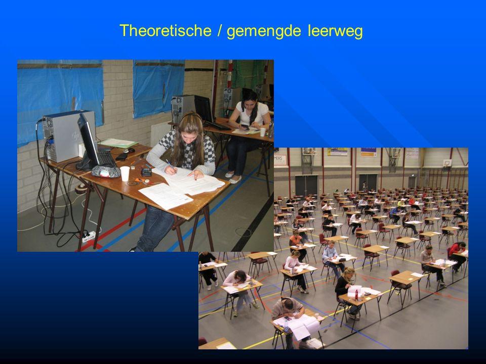 Theoretische / gemengde leerweg