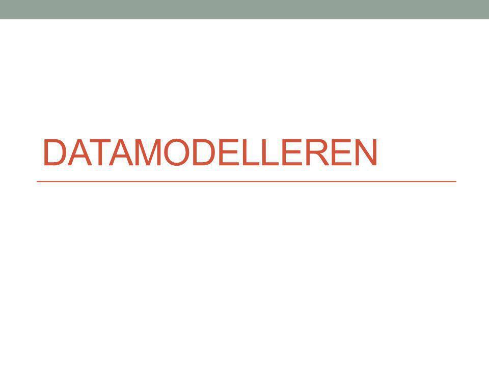 Datamodelleren