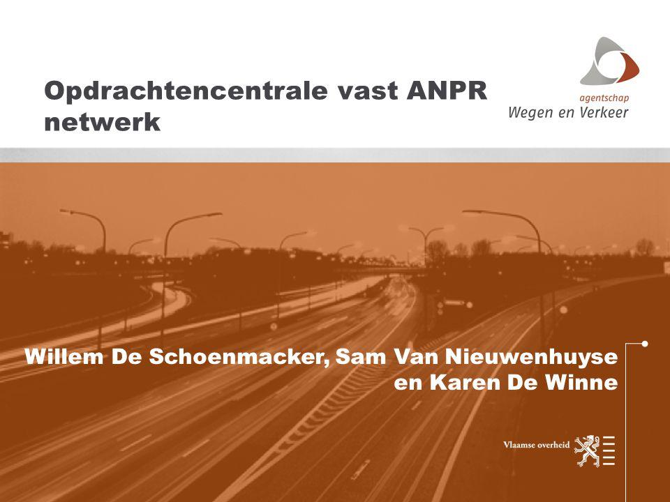 Opdrachtencentrale vast ANPR netwerk