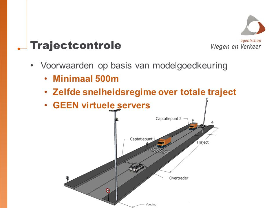 Trajectcontrole Voorwaarden op basis van modelgoedkeuring