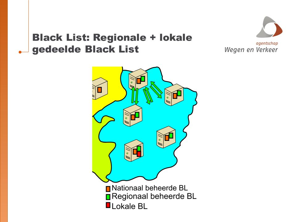 Black List: Regionale + lokale gedeelde Black List