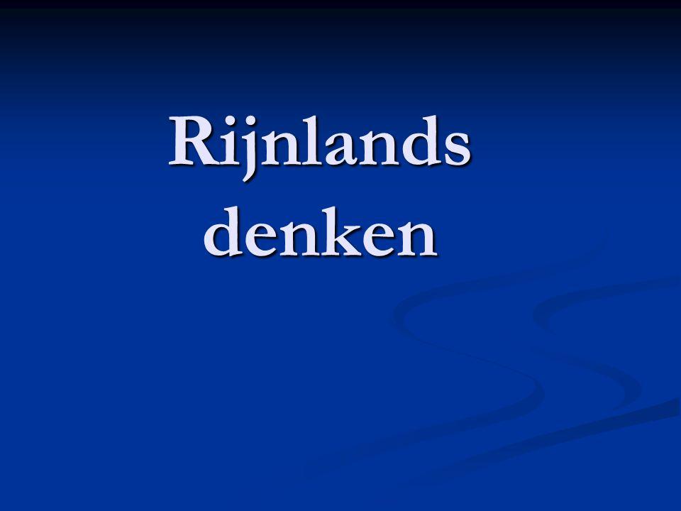 Rijnlands denken