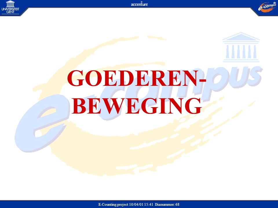 GOEDEREN-BEWEGING