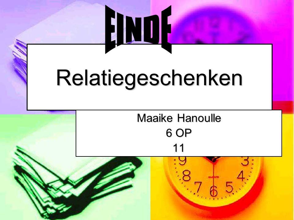 EINDE Relatiegeschenken Maaike Hanoulle 6 OP 11