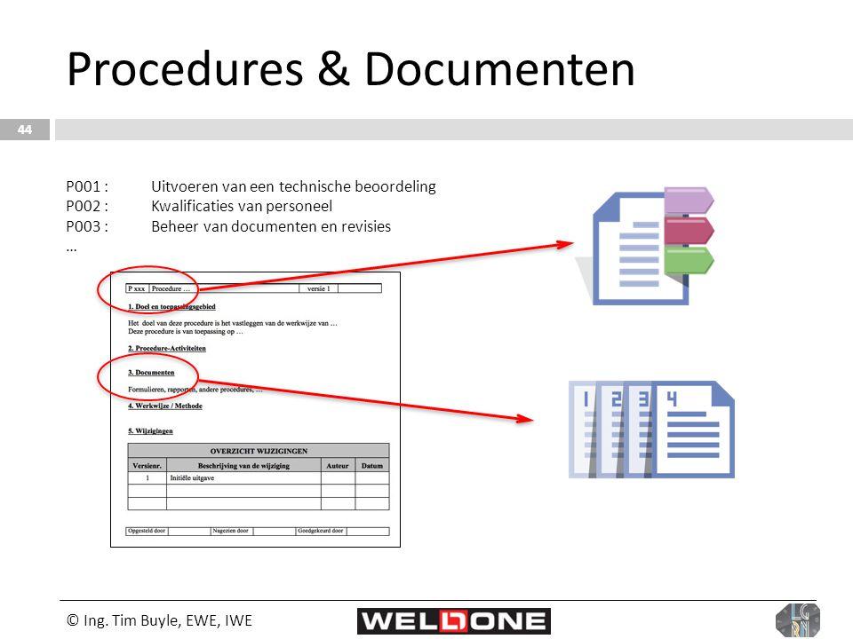 Procedures & Documenten