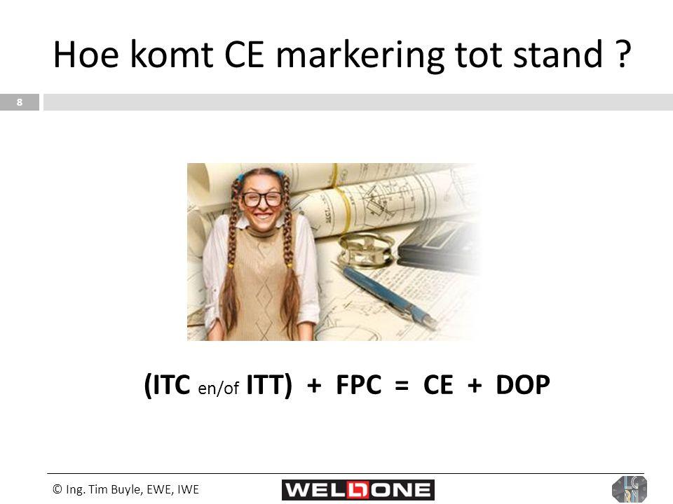 Hoe komt CE markering tot stand