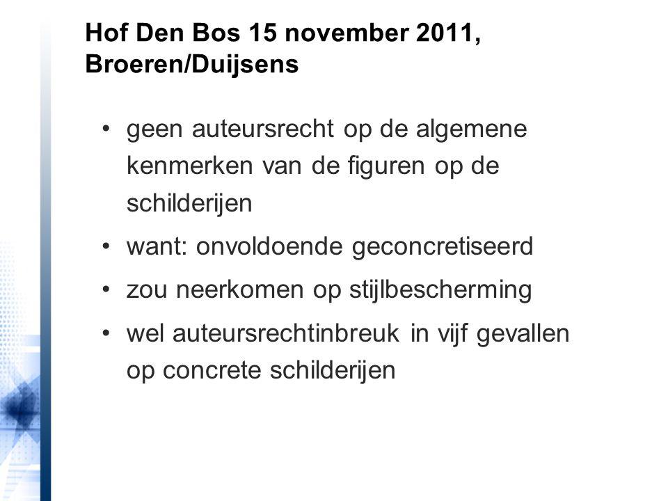 Hof Den Bos 15 november 2011, Broeren/Duijsens