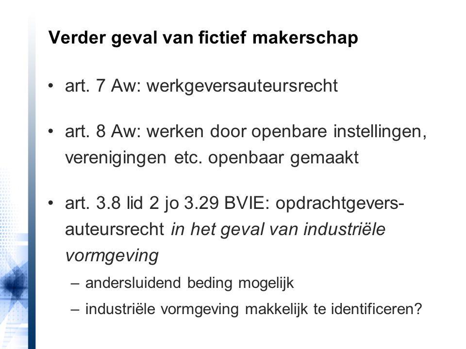 Verder geval van fictief makerschap
