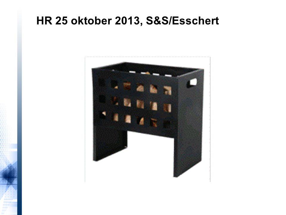 HR 25 oktober 2013, S&S/Esschert