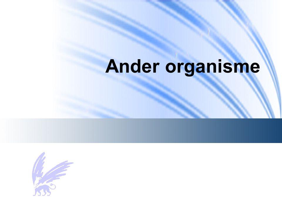 Ander organisme