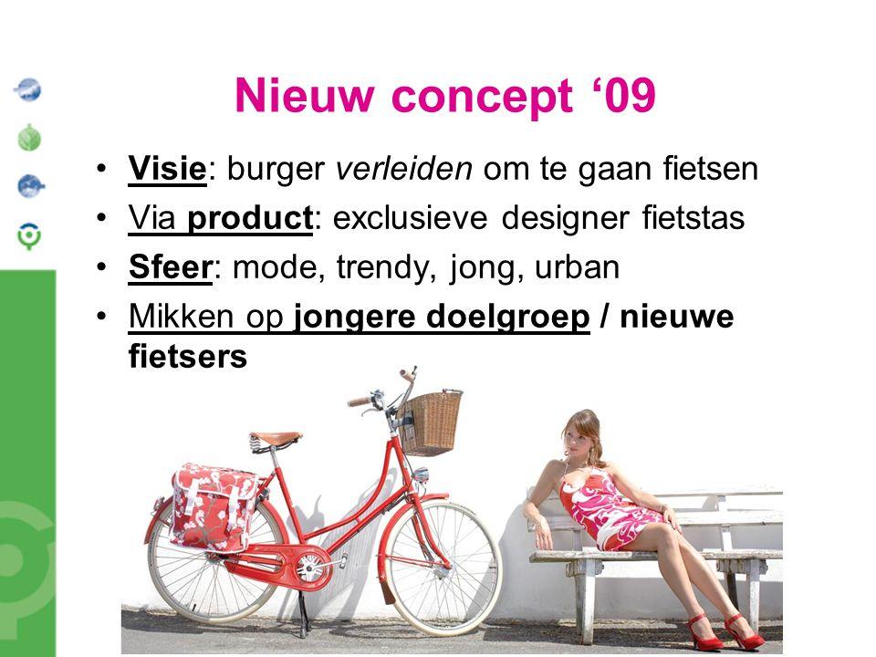 Nieuw concept '09 Visie: burger verleiden om te gaan fietsen