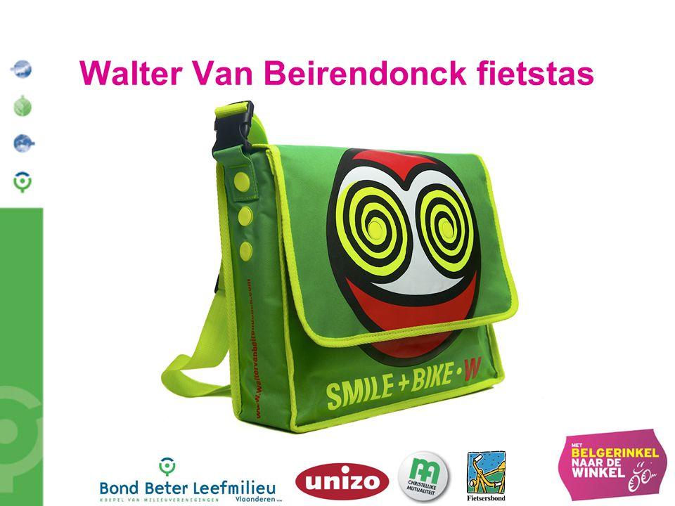 Walter Van Beirendonck fietstas