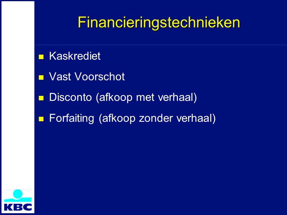 Financieringstechnieken