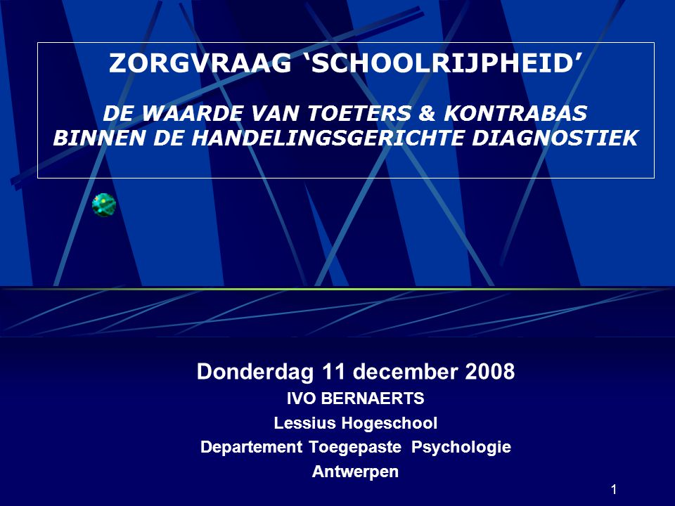 Departement Toegepaste Psychologie