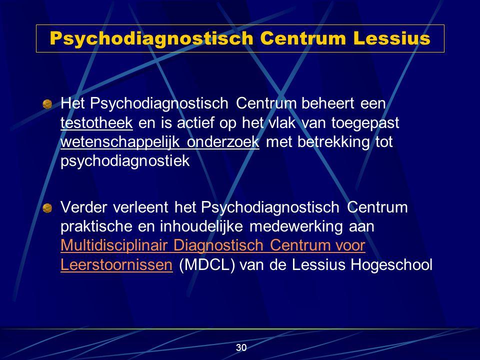 Psychodiagnostisch Centrum Lessius