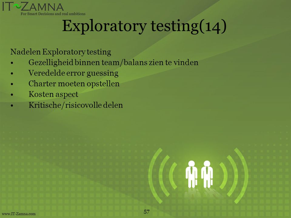 Exploratory testing(14)