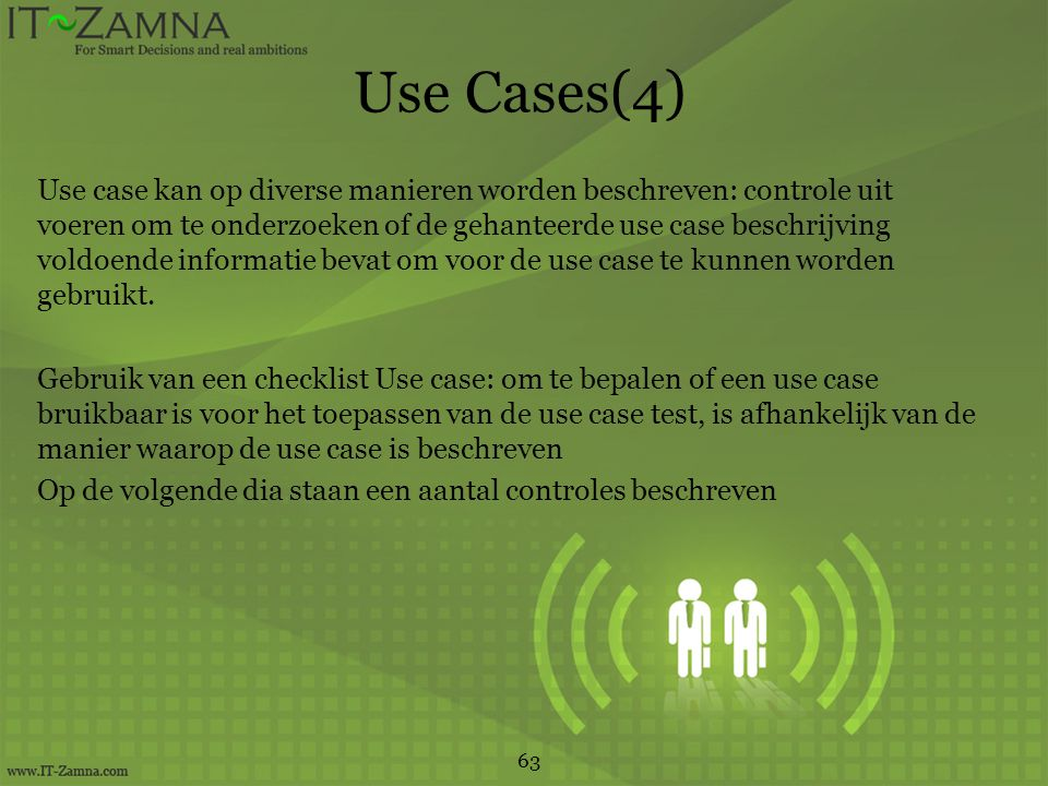 Use Cases(4)