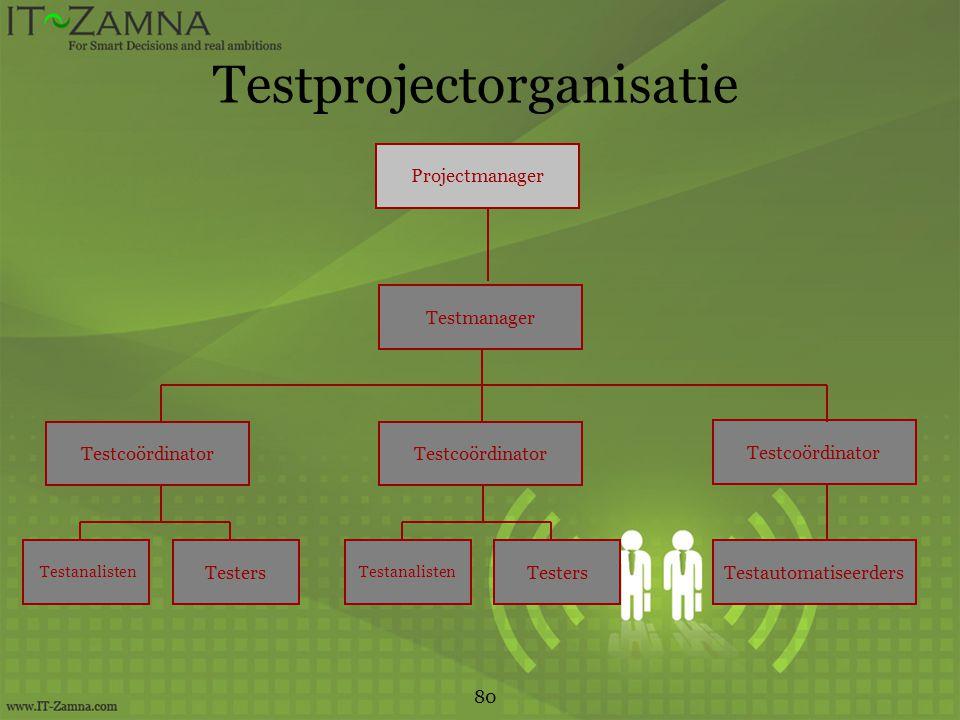 Testprojectorganisatie