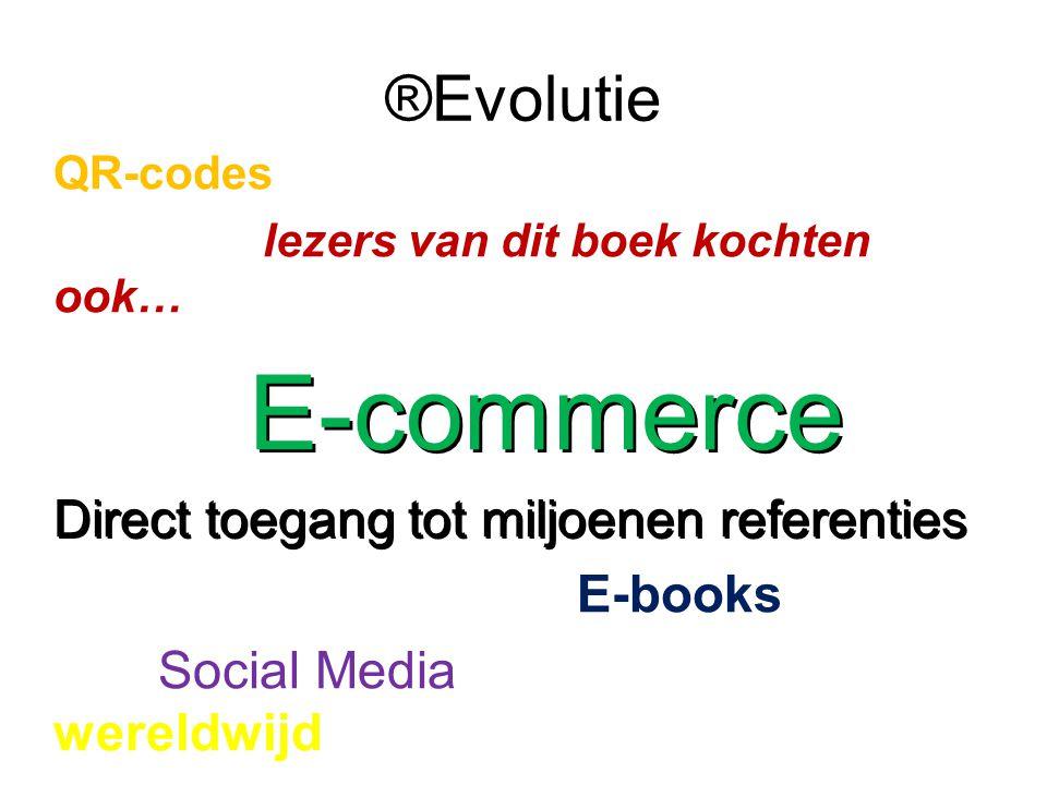 ®Evolutie Direct toegang tot miljoenen referenties E-books