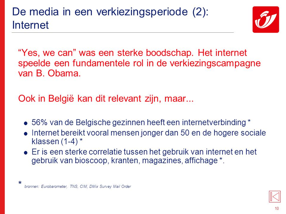 De media in een verkiezingsperiode(3): e-mailing