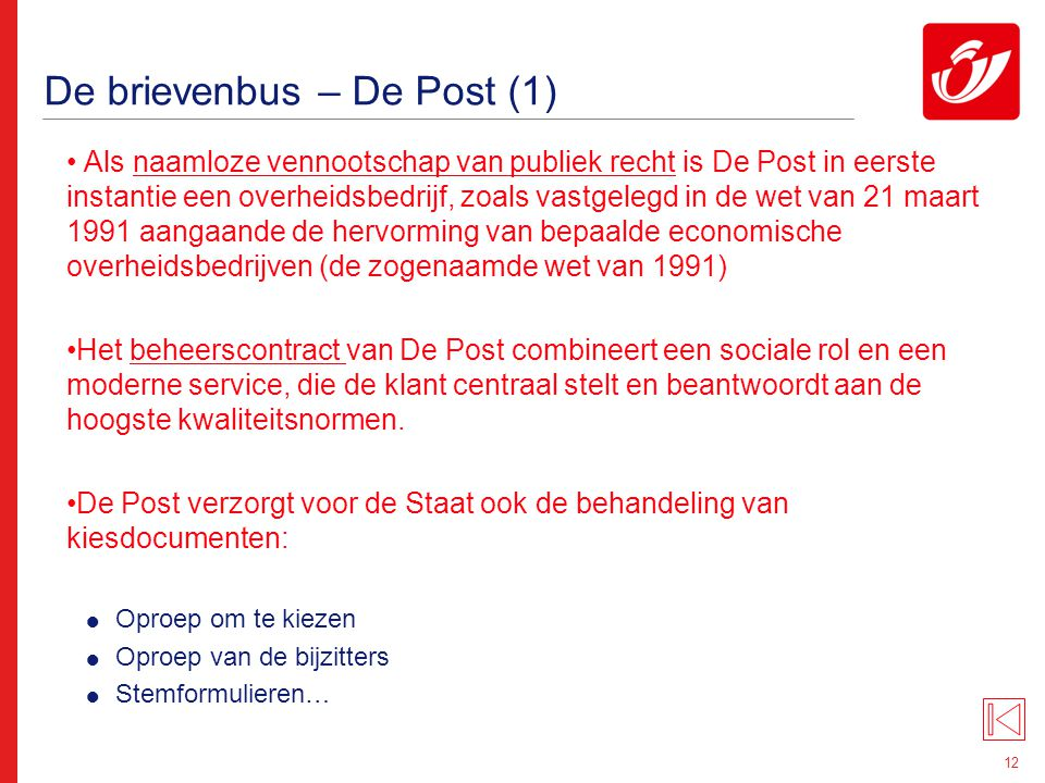De brievenbus – De Post (2)