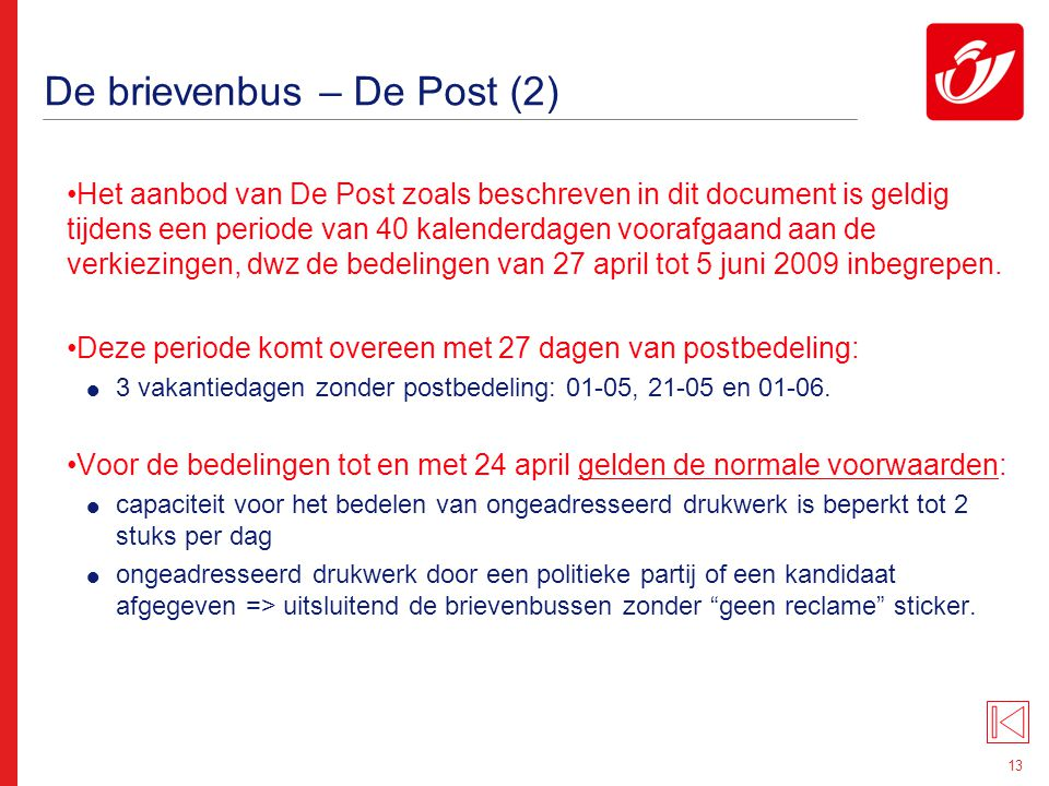 De brievenbus – De Post (3)