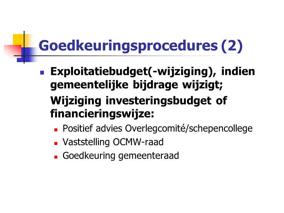 Goedkeuringsprocedures (2)