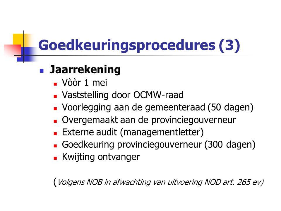 Goedkeuringsprocedures (3)