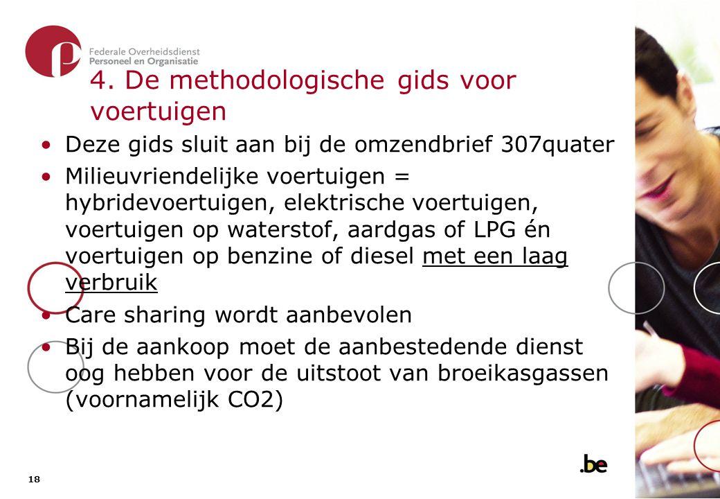 4. De methodologische gids voor voertuigen (2)