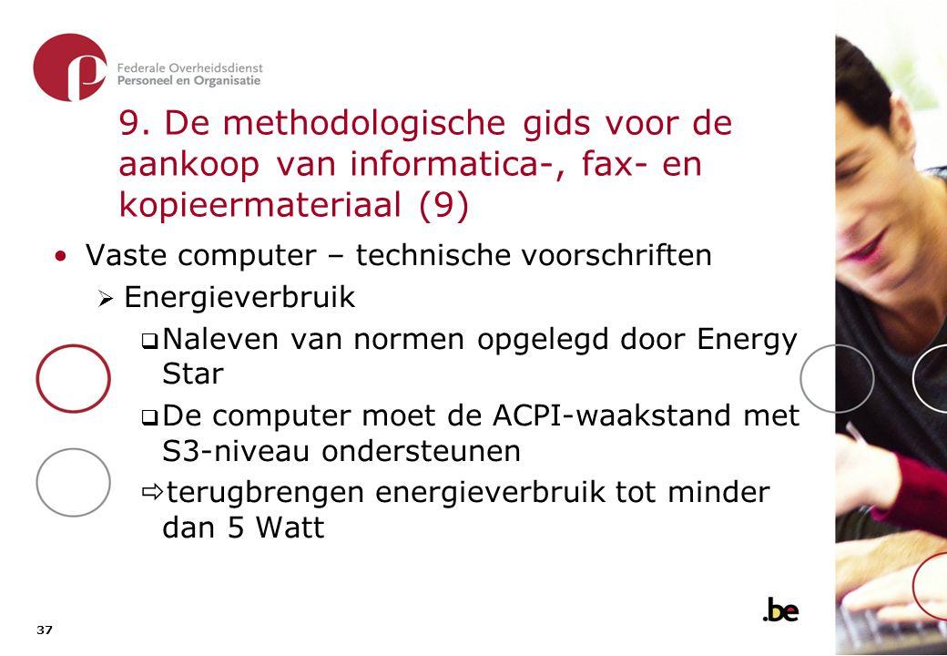 9. De methodologische gids voor de aankoop van informatica-, fax- en kopieermateriaal (10)