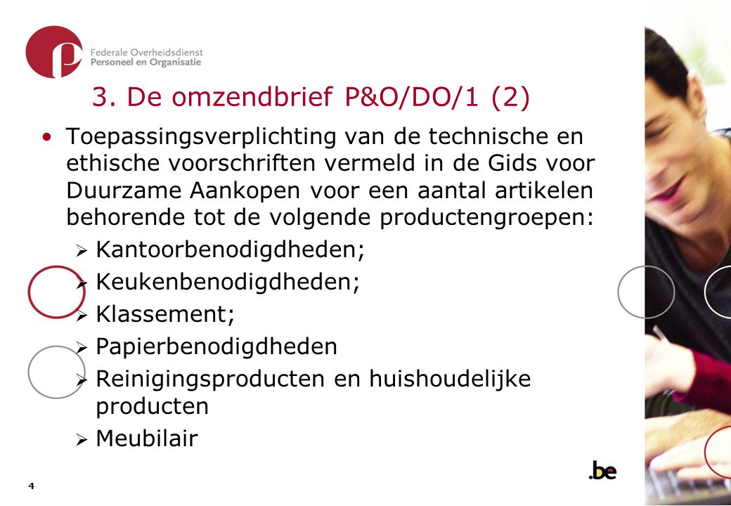 3. De omzendbrief P&O/DO/1 (3)