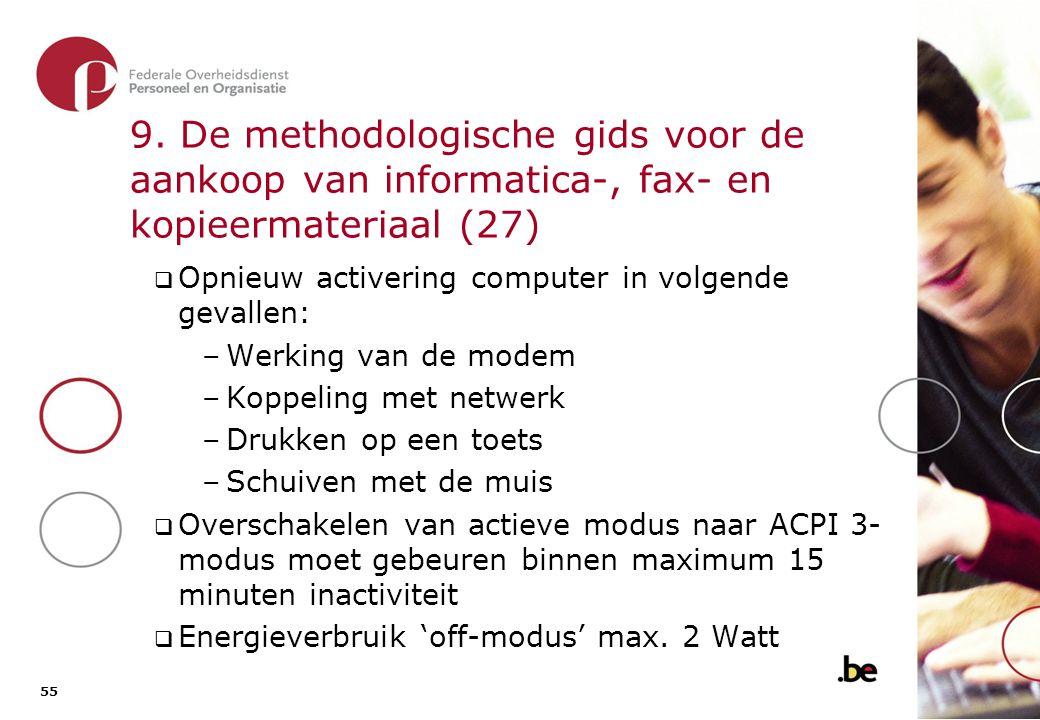 9. De methodologische gids voor de aankoop van informatica-, fax- en kopieermateriaal (28)