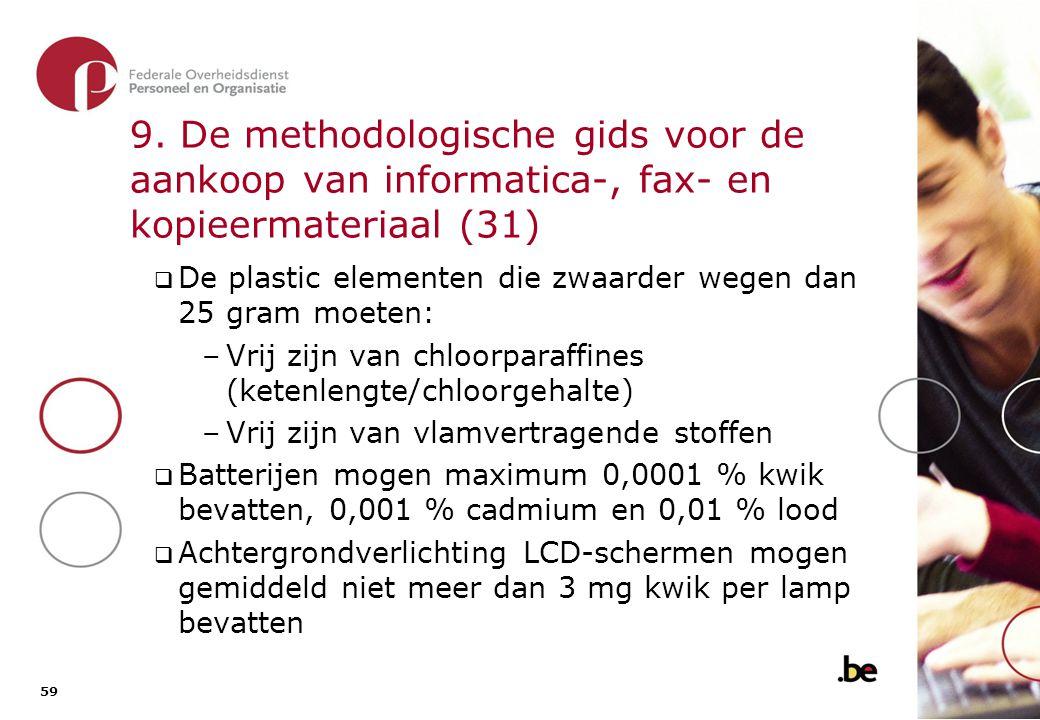 9. De methodologische gids voor de aankoop van informatica-, fax- en kopieermateriaal (32)