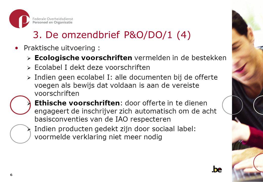 3. De omzendbrief P&O/DO/1 (5)