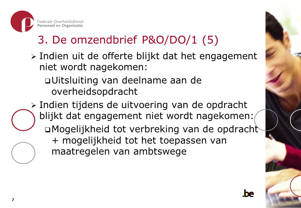 3. De omzendbrief P&O/DO/1 (6)