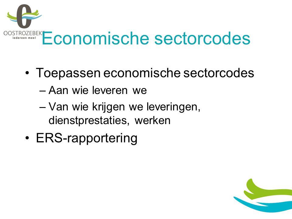 Economische sectorcodes