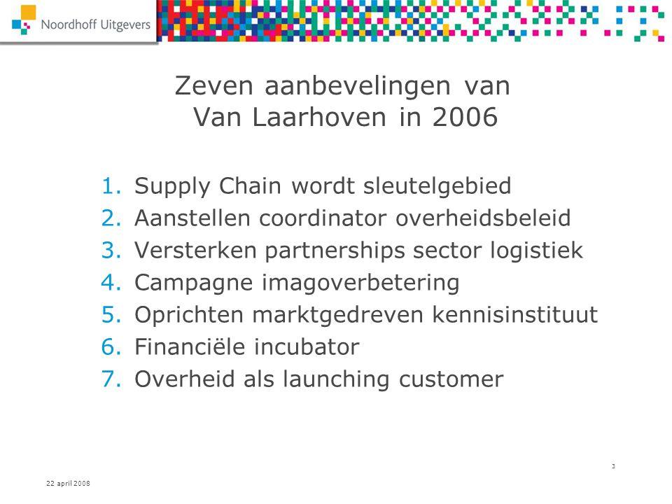 Zeven aanbevelingen van Van Laarhoven in 2006