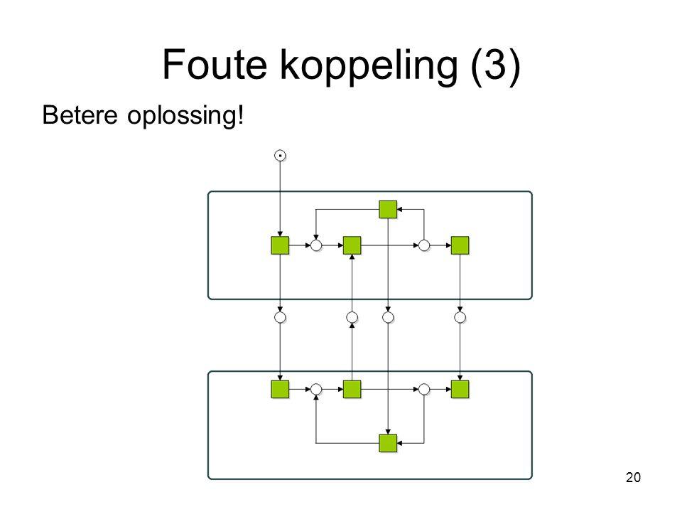 Foute koppeling (3) Betere oplossing!