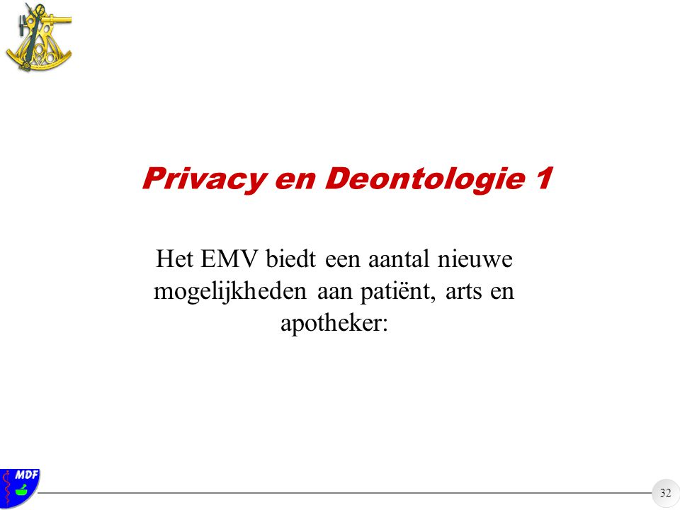 Privacy en Deontologie 1