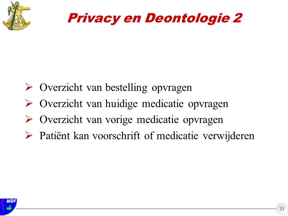 Privacy en Deontologie 2